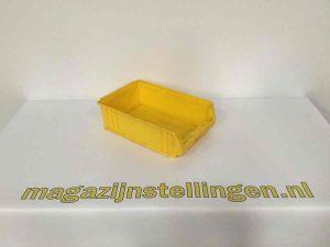 kunststof bakken 50x30x14 geel