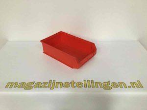 kunststof bakken 50x30x14 rood