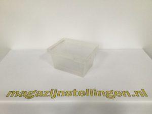 magazijnstellingen-40x30x20 nestbaar helder