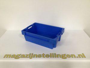 magazijnstellingen-60x40x20 nestbaar en stapelbaar blauw