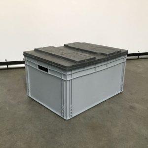 magazijnstellingen-kunstofbak deksel 80x60