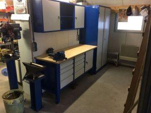 Werkplaats inrichting voor montagetechniek Jelle van der Veen